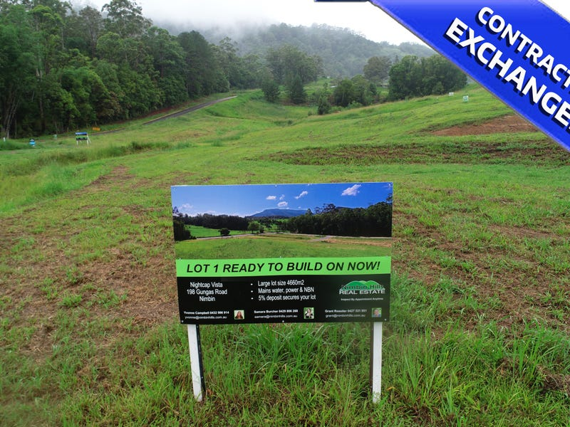 Lot 1a /198 Gungas Road, Nimbin, NSW 2480