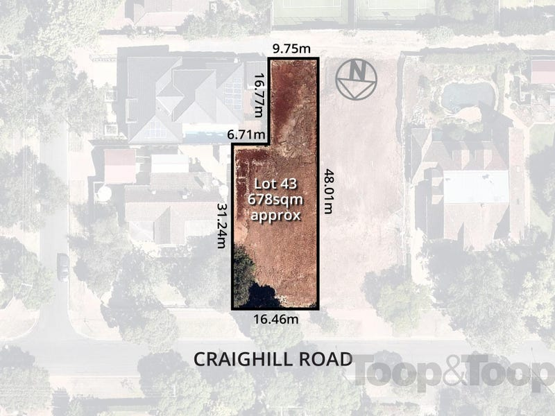Lot 43, 10 Craighill Road, St Georges, SA 5064
