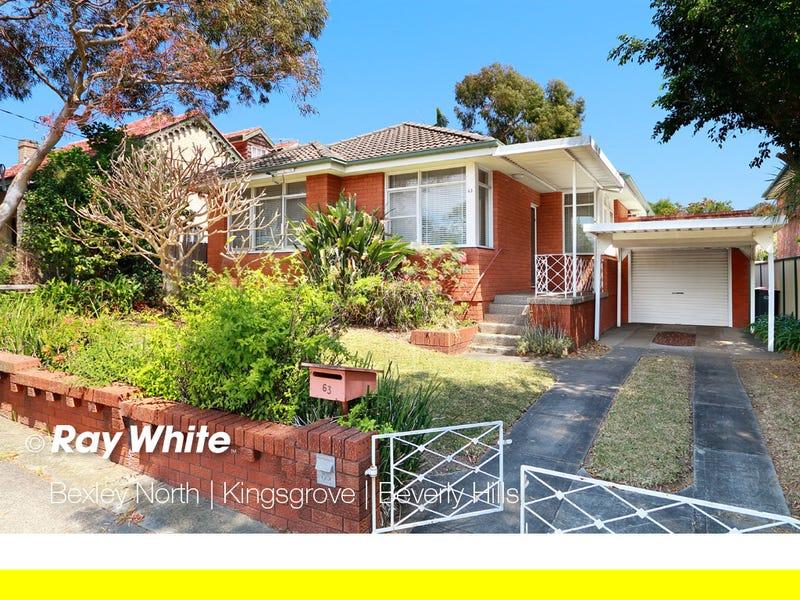 63 Bayview Street, Bexley, NSW 2207