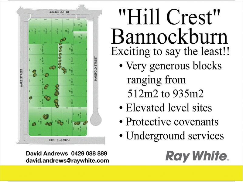 Lot 22 HILLCREST ESTATE, Bannockburn, Vic 3331