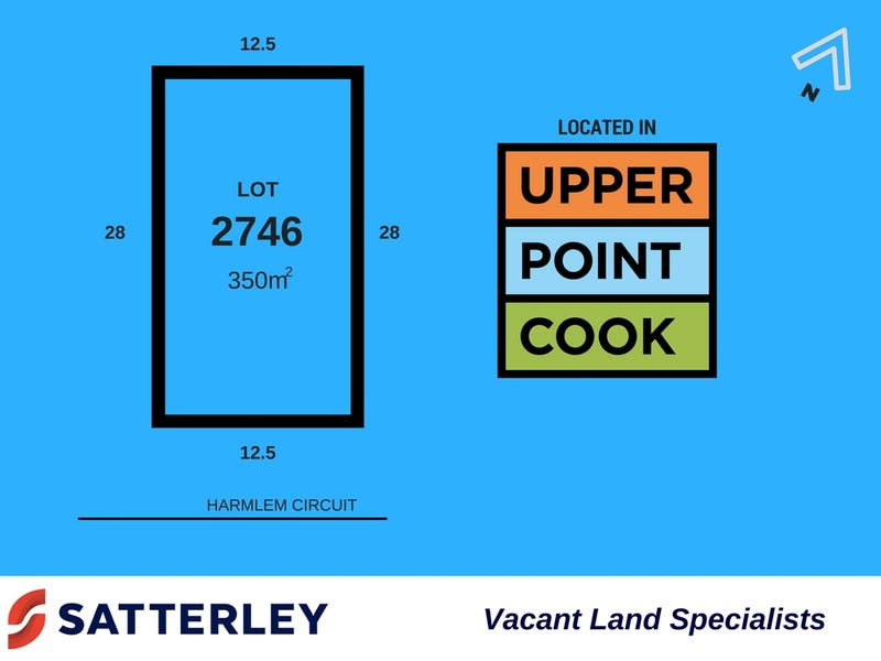 Lot 2746, Harlem Circuit, Point Cook, Vic 3030