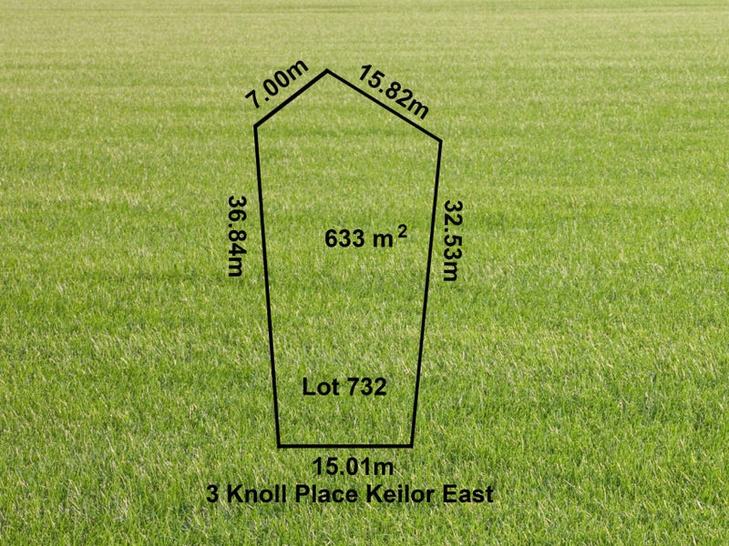 Lot 732 No: 3 Knoll Place, Keilor East, Vic 3033