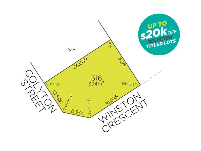 Lot 516, Colyton Street, Viveash, WA 6056