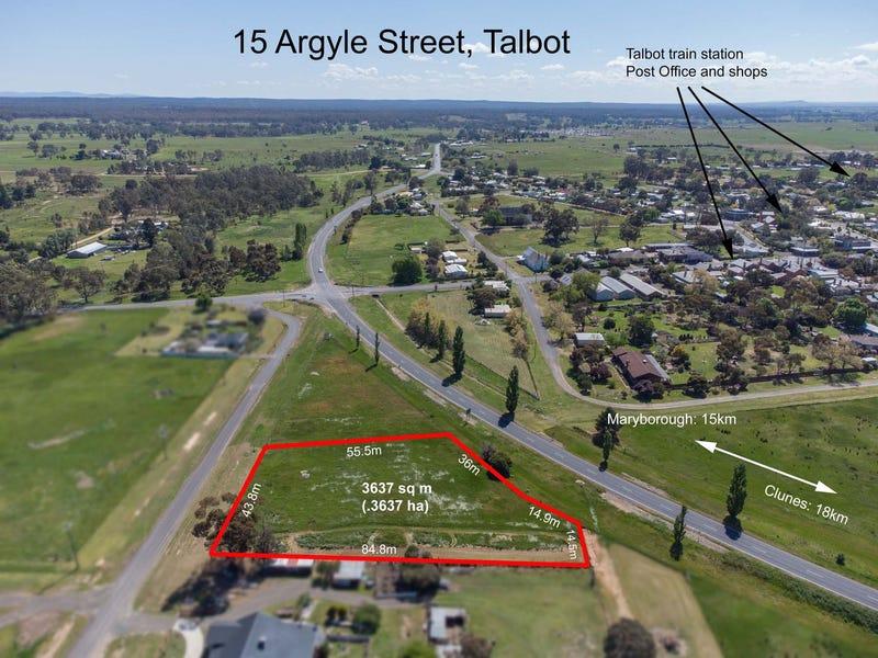 15 Argyle Street, Talbot, Vic 3371