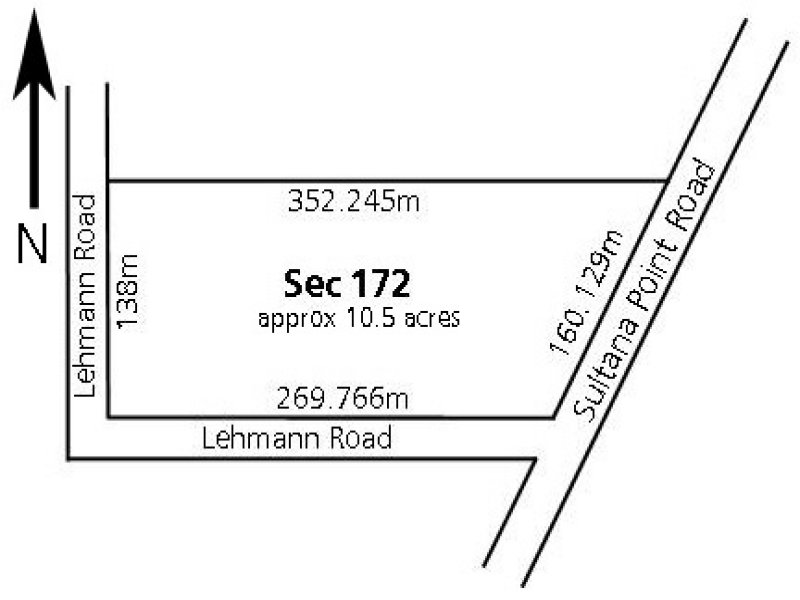 Sec 172 Sultana Point Road, Edithburgh, SA 5583