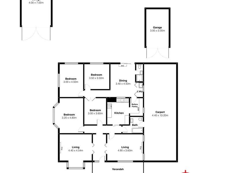 17 Ellesmere Street, Kensington Park, SA 5068 - floorplan