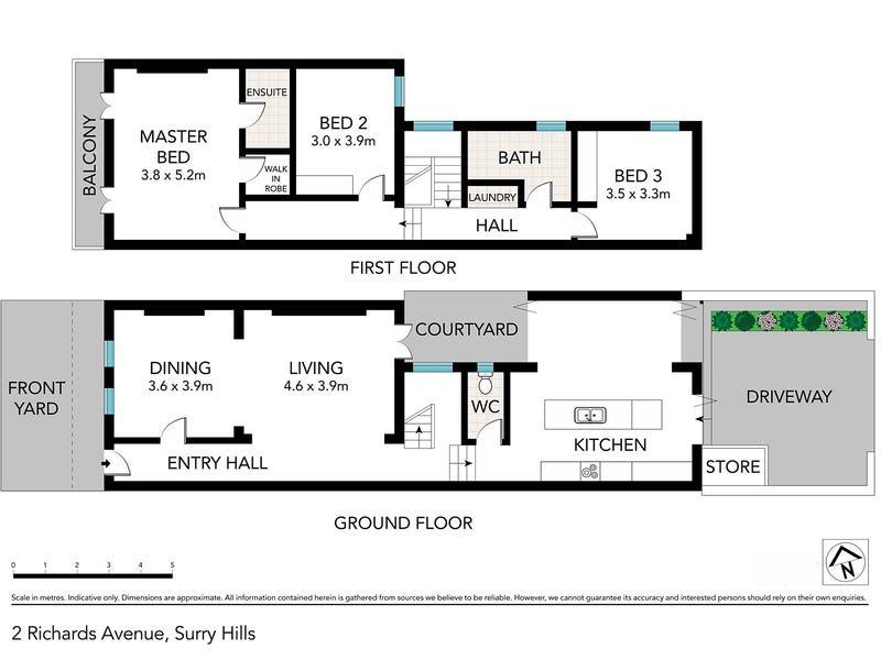 2 Richards Avenue, Surry Hills, NSW 2010 - floorplan