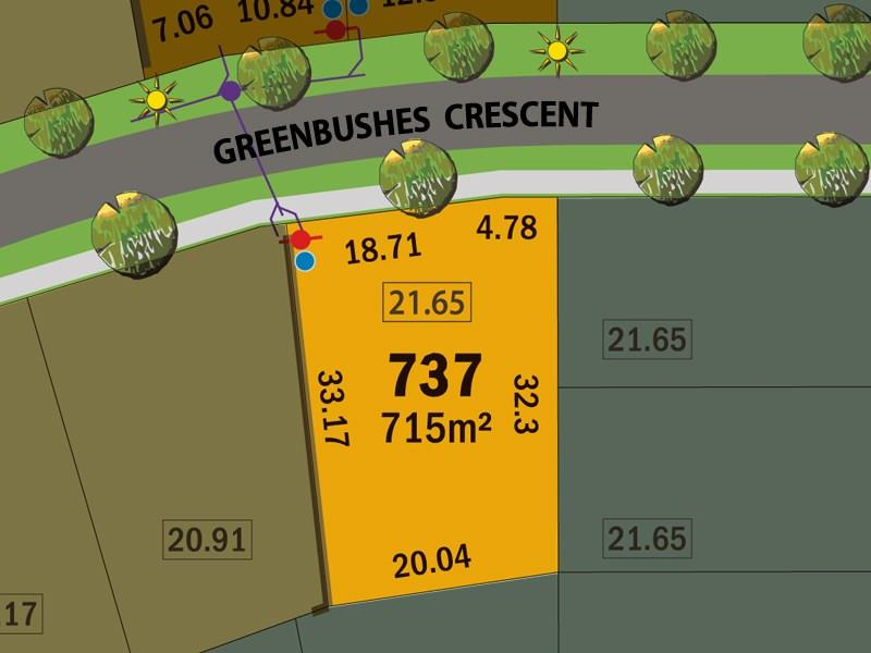 Lot 737,   Greenbushes Crescent, Dawesville, WA 6211