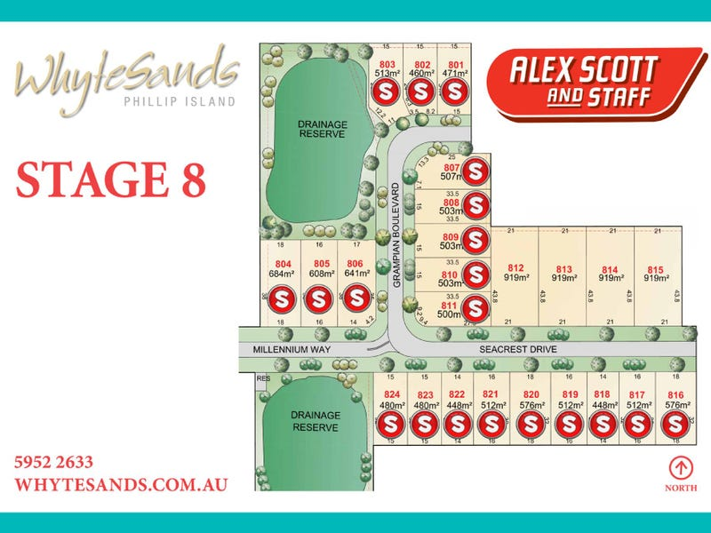 LOT 815 WHYTE SANDS ESTATE, Cowes, Vic 3922