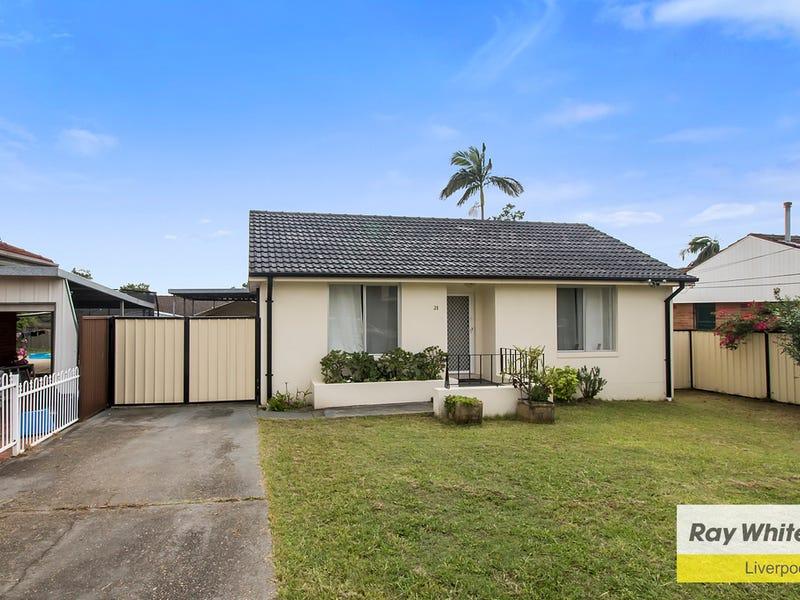 21 Gibson Avenue, Casula, NSW 2170