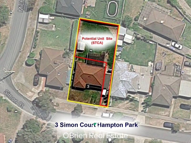 3 Simon Court, Hampton Park, Vic 3976