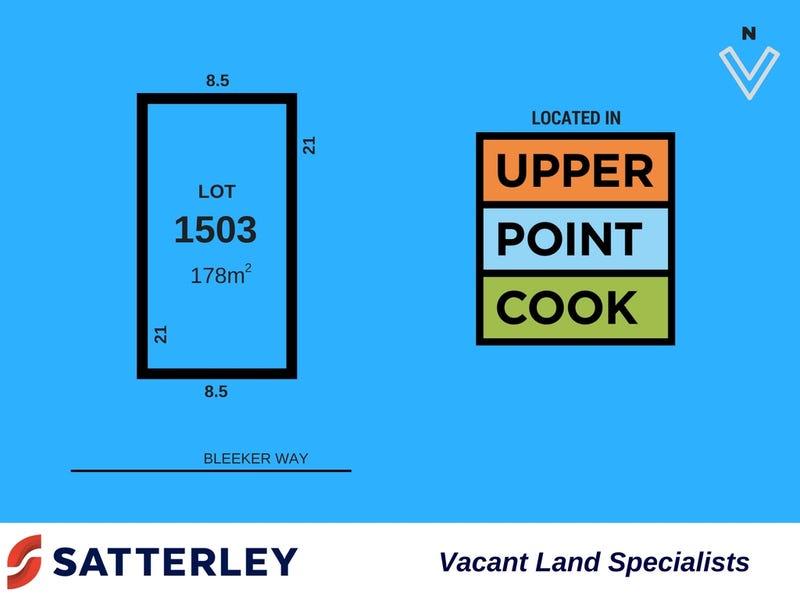 Lot 1503, Bleecker Way, Point Cook, Vic 3030