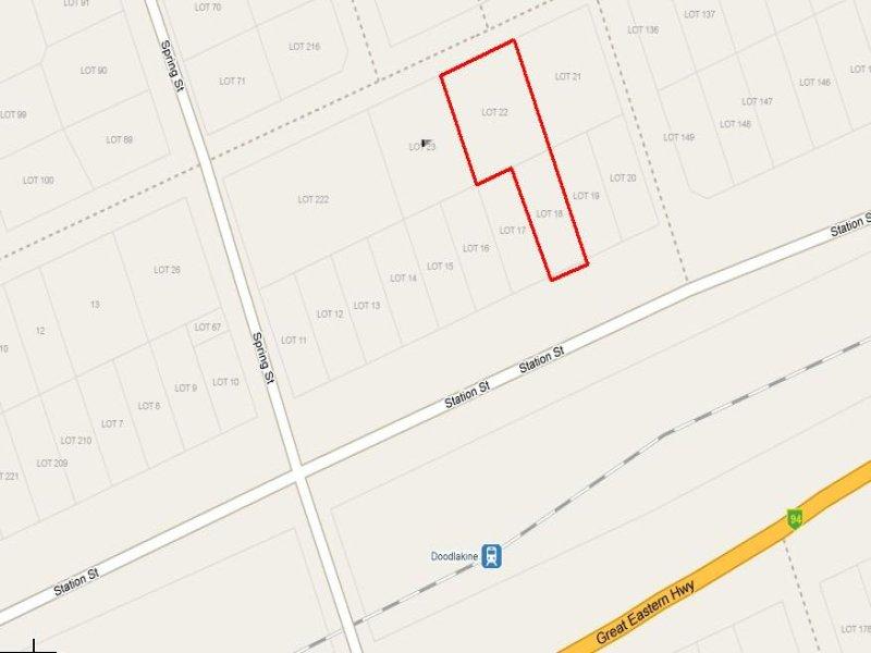 22 LEAKE STREET, Doodlakine, WA 6411