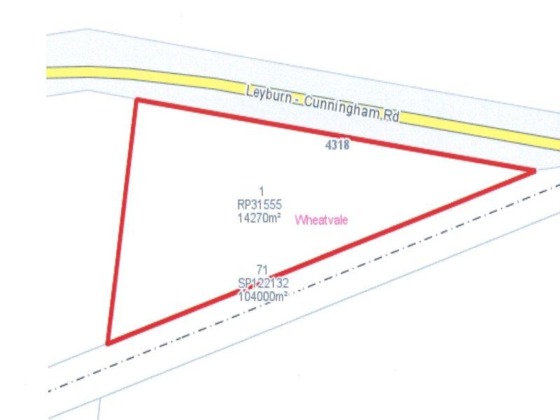 4318 Leyburn-Cunningham Hwy, Wheatvale, Qld 4370