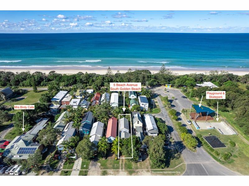 5 Beach Avenue, South Golden Beach, NSW 2483