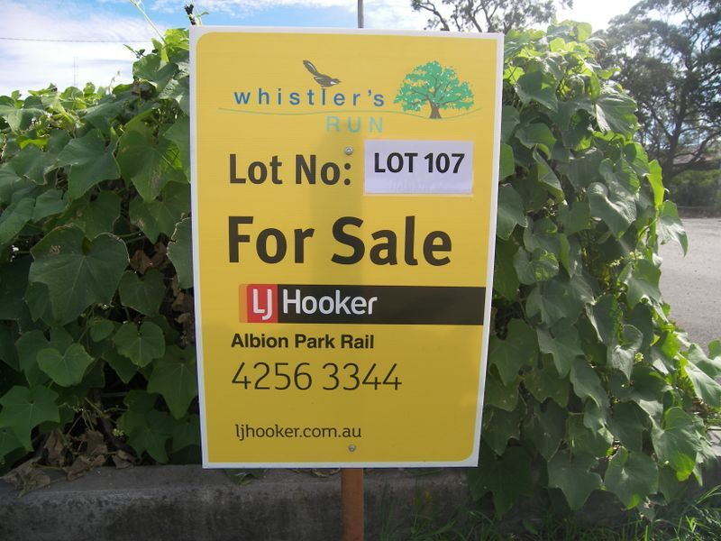 Lot 107 Whistlers Run, Albion Park, NSW 2527