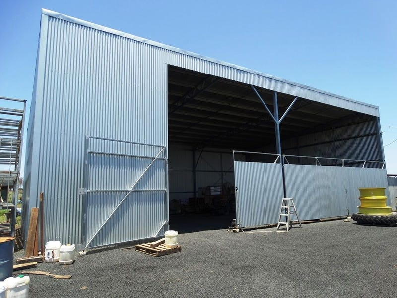 . GREAT SHED + 254 ACRES, Chinchilla, Qld 4413
