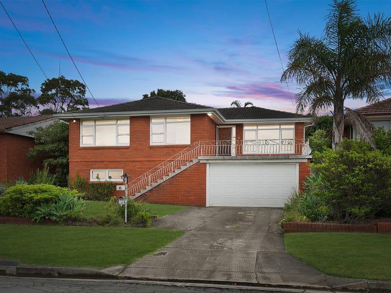 6 Bridgeview Road, Beverly Hills, NSW 2209