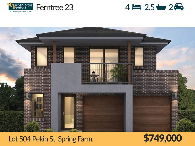 Lot 504 Pekin St, Spring Farm, NSW 2570