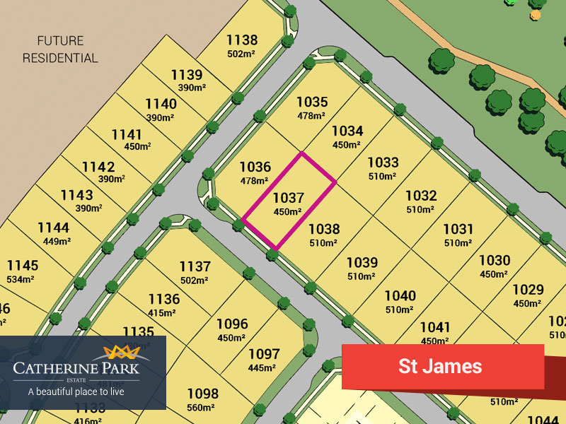 Lot 1037, Catherine Park Estate, Oran Park, NSW 2570