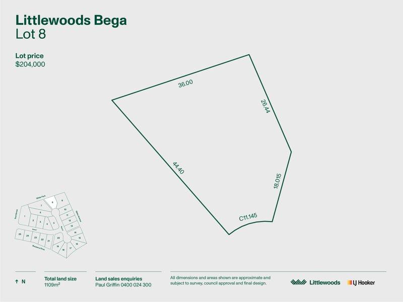 Lot 8 Littlewood Estate, Bega, NSW 2550