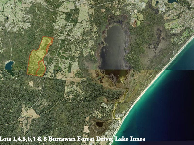 Lot 6 Burrawan Forest Drive, Lake Innes, NSW 2446