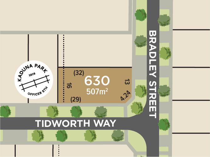 Lot 630, Bradley Street, Officer South, Vic 3809