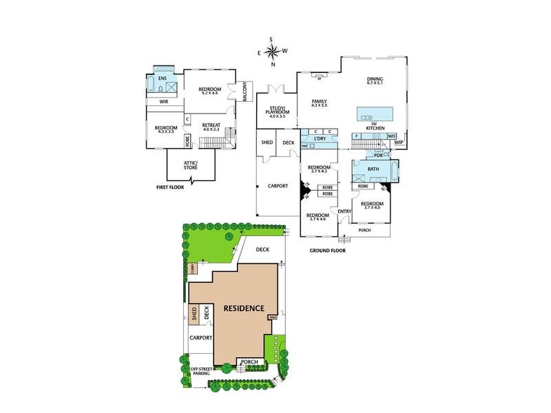 114 Eglinton Street, Kew, Vic 3101 - floorplan