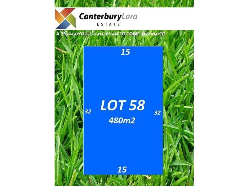 Lot 58 Canterbury Lara Estate, Lara, Vic 3212