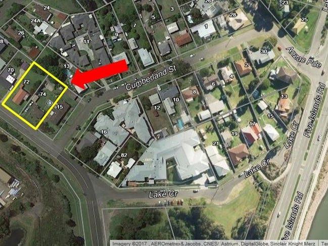 72 & 74 York Street, Teralba, NSW 2284