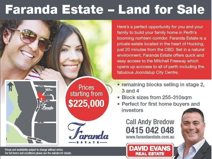 Lot 62 Faranda Estate, Hocking, WA 6065