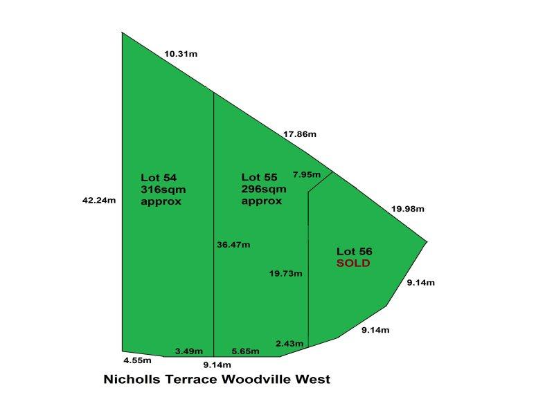 Lot 54 & 55, 24 Nicholls Terrace, Woodville West, SA 5011