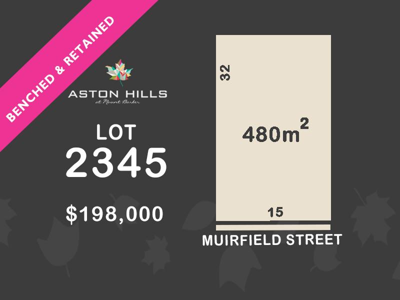 Lot 2345, Muirfield Street, Mount Barker, SA 5251