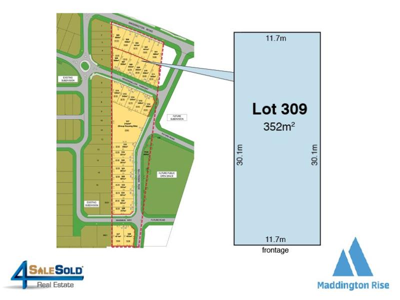 Lot 309  Woodswallow Parkway, Maddington, WA 6109