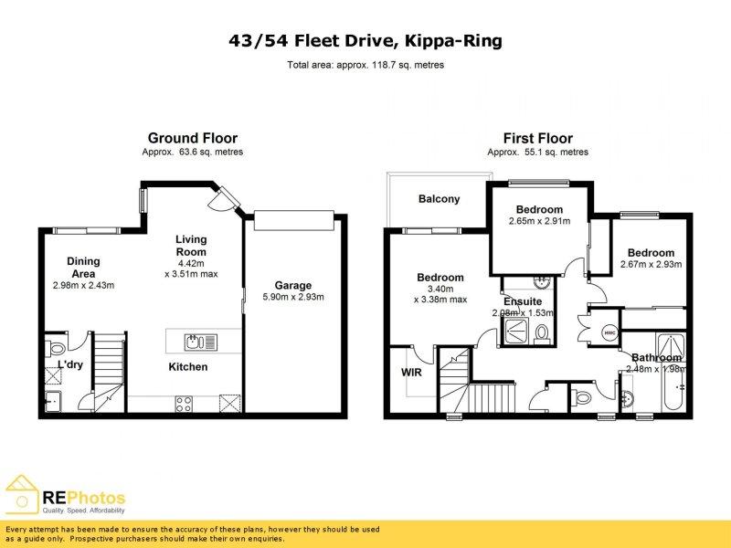 43/54 Fleet Dr, Kippa-Ring, Qld 4021
