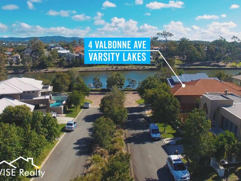 4 Valbonne, Varsity Lakes, Qld 4227