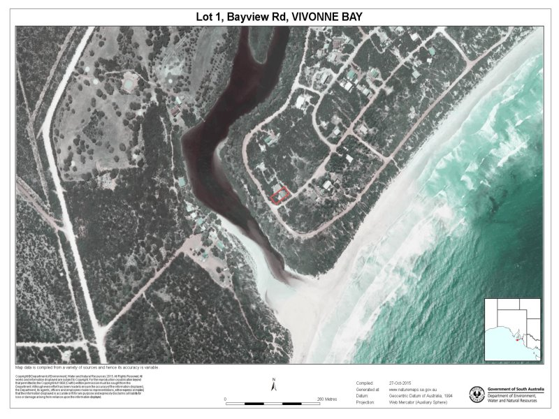 Lot 1 Bayview Rd, Vivonne Bay, SA 5223