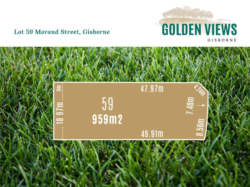 Lot 59, Morand Street, Gisborne, Vic 3437