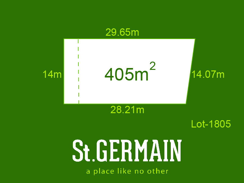 Lot 1805, St Germain, Clyde North, Vic 3978