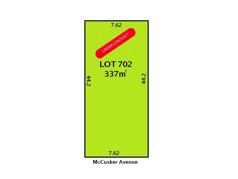Lot 702, 9 McCusker Avenue, Enfield, SA 5085