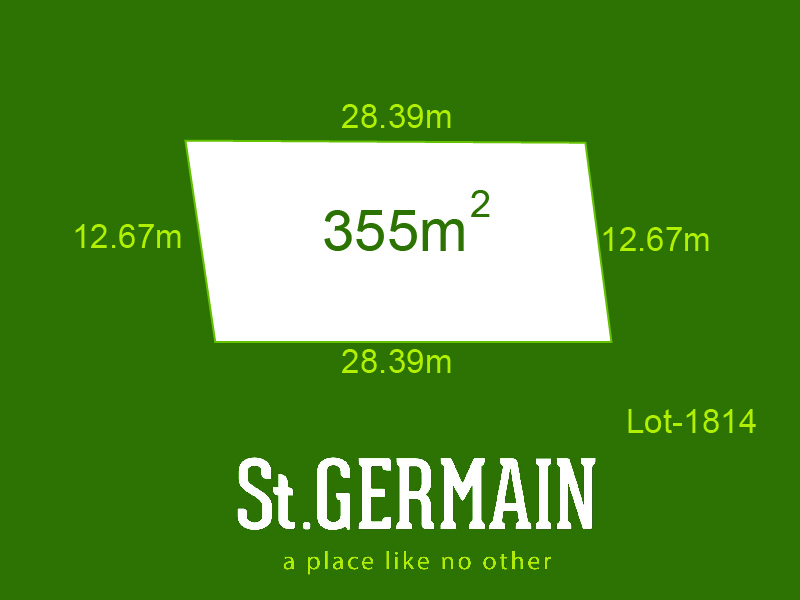Lot 1814, St Germain, Clyde North, Vic 3978