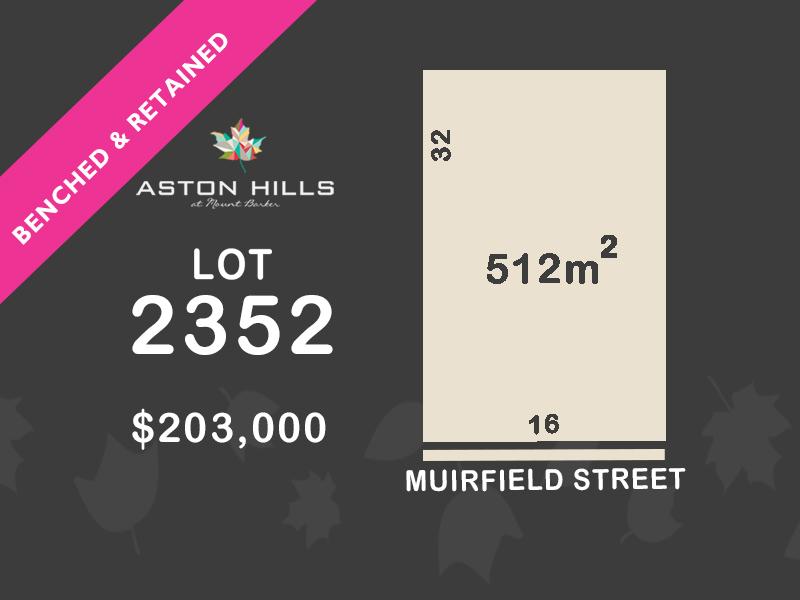 Lot 2352, Muirfield Street, Mount Barker, SA 5251