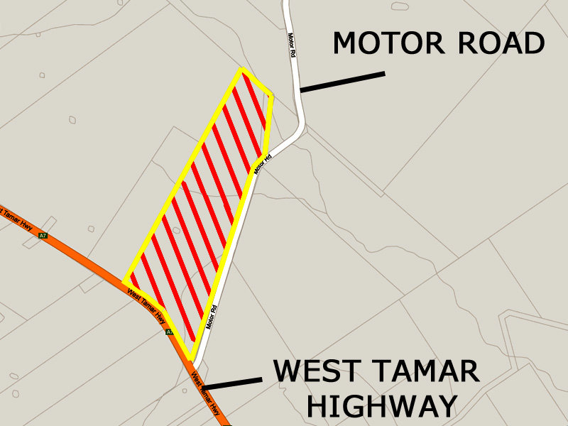 Corner of West Tamar Highway & Motor Road, Loira, Tas 7275