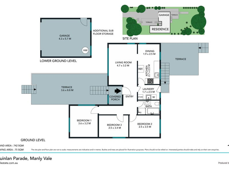 15 Quinlan Parade, Manly Vale, NSW 2093 - floorplan