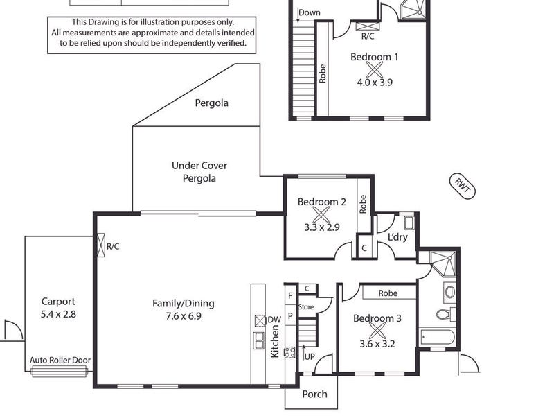1A Salrak Avenue, Marion, SA 5043 - floorplan