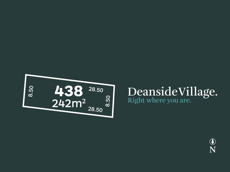Lot 438, Vel Street, Deanside, Vic 3336
