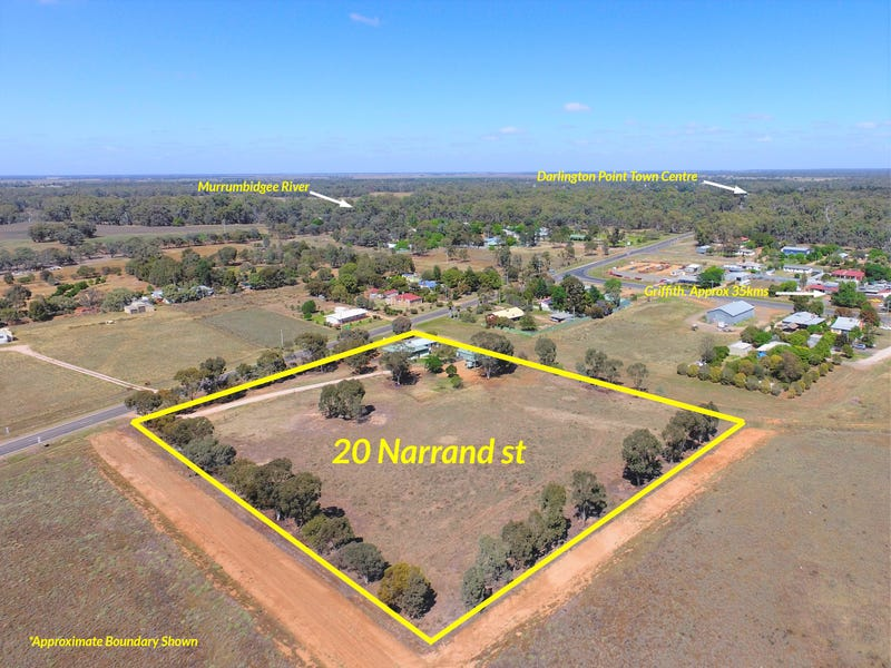 20 Narrand Street, Darlington Point, NSW 2706
