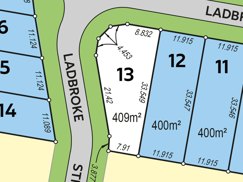 Lot 13, Ladbroke Street, Wakerley, Qld 4154 - Residential Land for