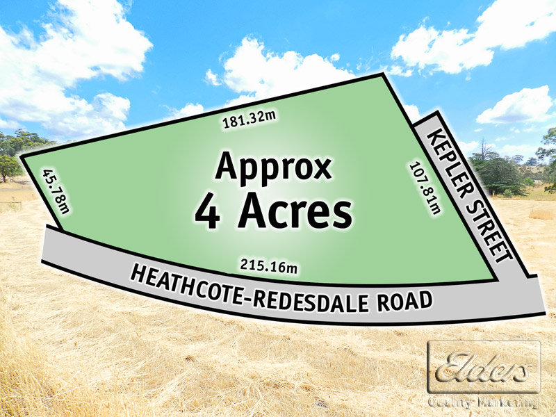 Lot 1 Heathcote - Redesdale Road, Mia Mia, Vic 3444