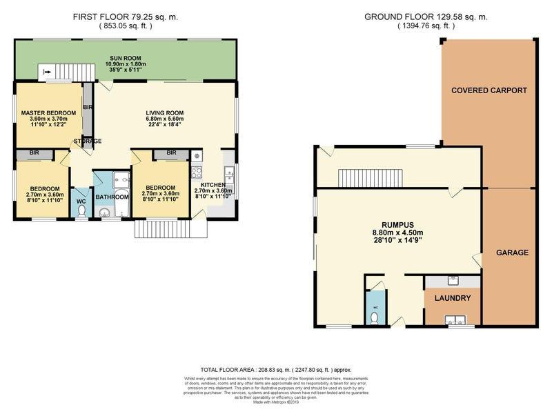 54 Fourth Avenue, Marsden, Qld 4132 - floorplan